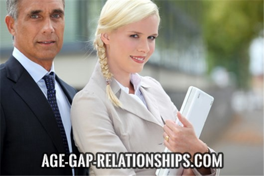 How old are couples in age gap relationships?
