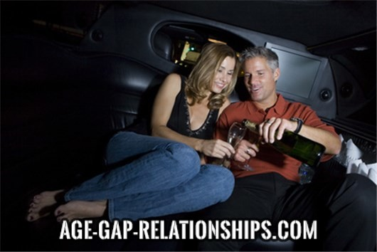 What are the reasons for women to prefer relationships with mature men?