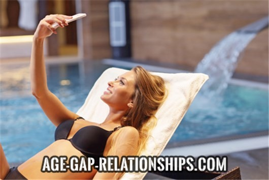 Why are older men so excited about dates and relationships with younger females?